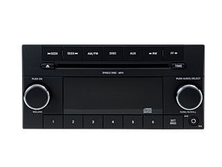 2009 Dodge Ram 2005 and Newer AM/FM CD Player (RES) 68021157AD