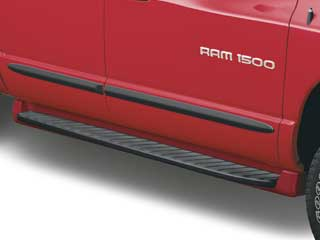 2008 Dodge Ram 2005 and Newer Molded Running Boards