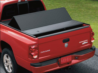 2010 Dodge Dakota Quad Cab Hard Folding Tonneau Cover