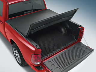 2009 Dodge Ram 2005 and Newer Tonneau Covers - Tri-Fold - 250 82210443