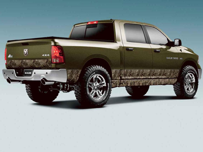 2011 Dodge Ram 2005 and Newer Decal Kit - Camo Rocker Panel