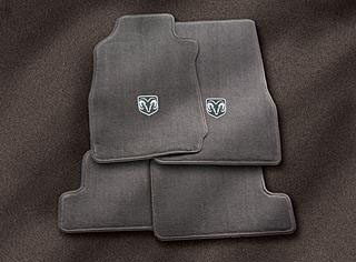 2010 Dodge Ram 2005 and Newer Premium Carpet Floor Mats