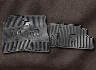 2005 Dodge Ram 2005 and Newer Slush Floor Mats
