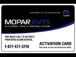 2012 Dodge Ram 2005 and Newer Electronic Vehicle Tracking Sys 82212459