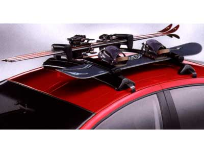 2004 Dodge Neon Roof-Mount Ski and Snowboard Carrier