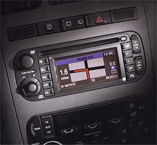 2002 Dodge Ram Quad Cab Navigation System