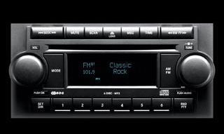 2006 Dodge Magnum REF AM/FM CD Player 5064171AN